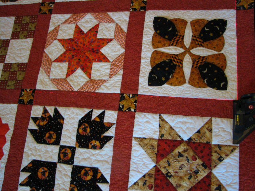How to block a quilt (1/5)