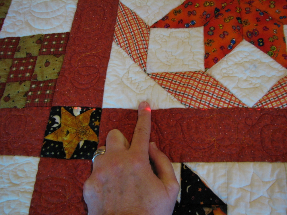 How to block a quilt (2/5)