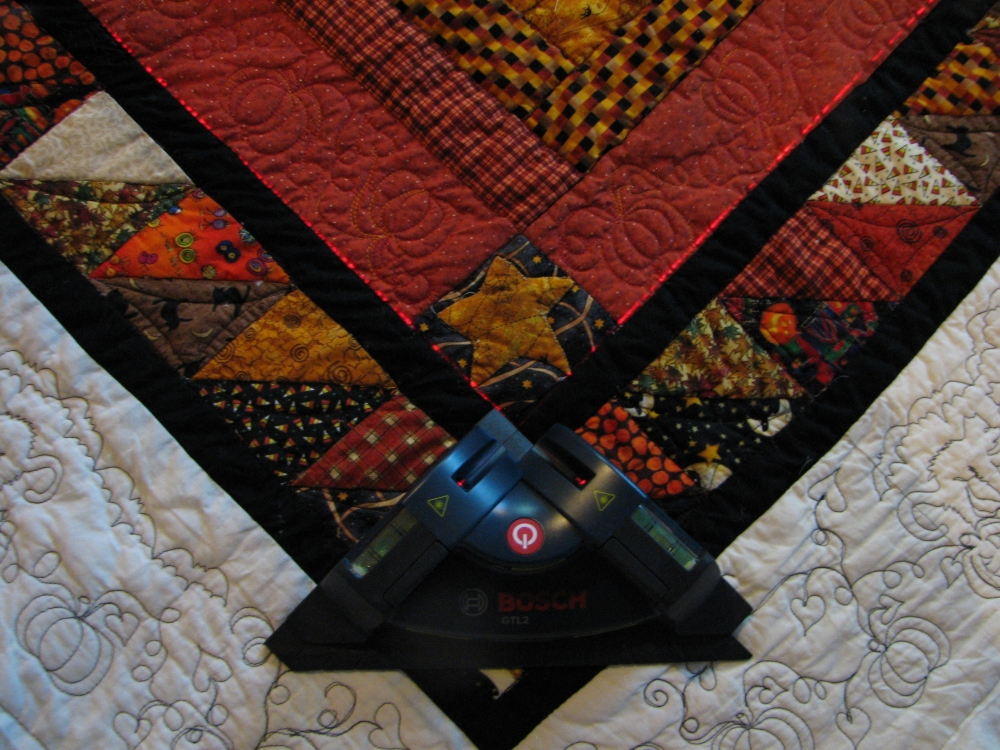 How to block a quilt (3/5)