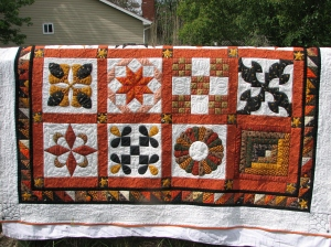 quilt, 1st customer finished 017
