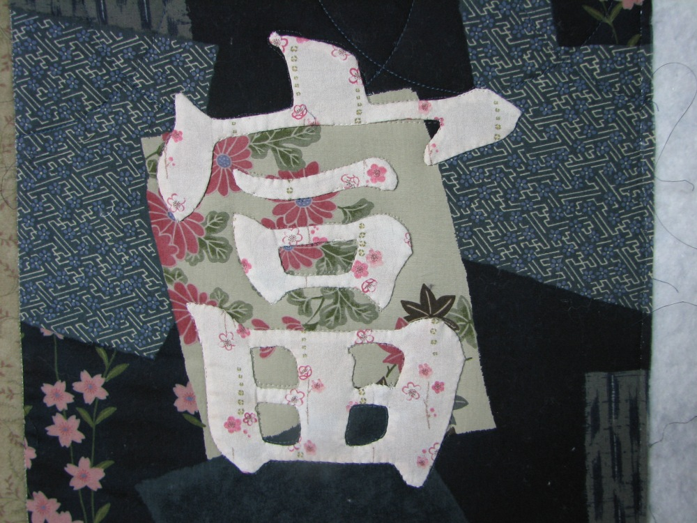 Marking a Quilt using Press 'n Seal (1/6)