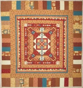 Wilma's quilt 5 009