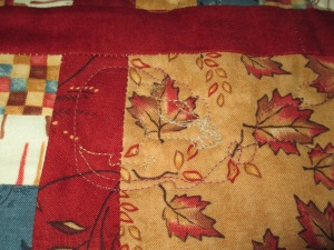 Wilma's quilt 5 012