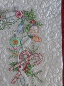 Elaine's 2 quilts 010
