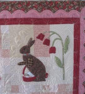 Joan's quilt 2 004