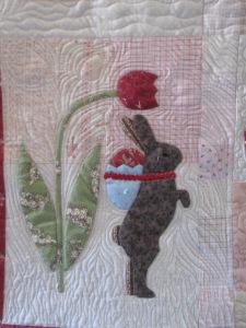 Joan's quilt 2 015