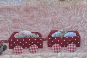 Joan's quilt 2 022