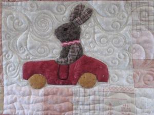 Joan's quilt 2 023