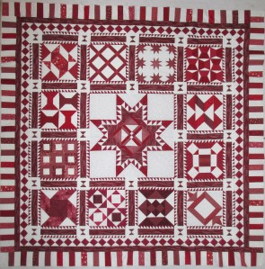 red and white quilt 007 (2)