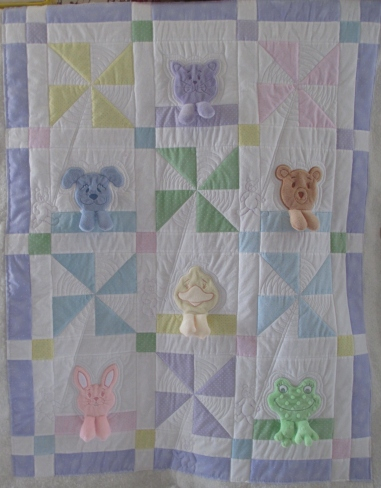 Leanne's baby quilt 005