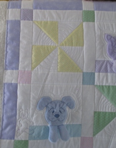 Leanne's baby quilt 008